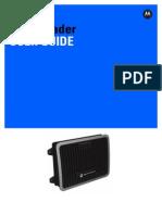 Manual FX9500