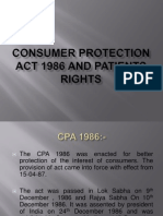 CONSUMER PROTECTION ACT 1986 AND PATIENTS RIGHTS.pptx