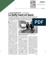 L'Echo, le 24 Avril 2013