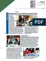 La Charente Libre, le 25 Avril 2013