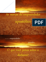 AS MARCAS DO EMPREENDEDOR APOSTÓLICO