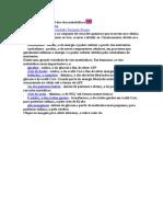 Uma panorâmica geral das vias metabólicas