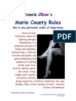 Pamela Olson's Marin County Rules