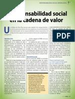 Responsabilidad Social en la cadena de valor