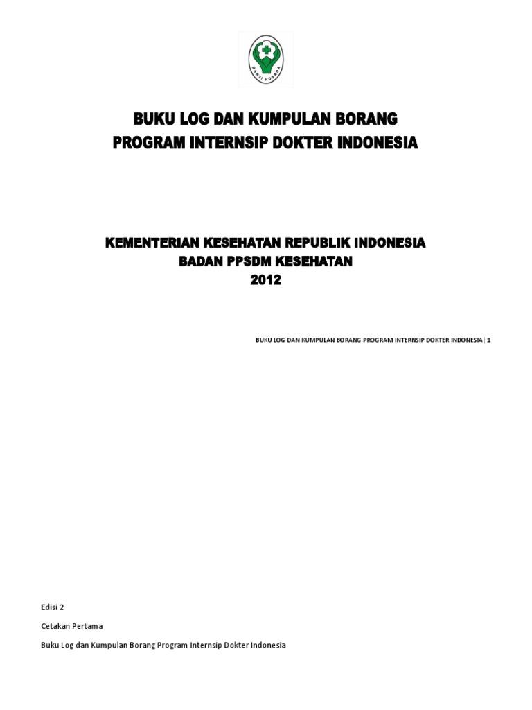 Buku Log Dan Kumpulan Borang Internship