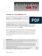 Women in View On TV