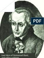 Last Days of Immanuel Kant and Other Wri