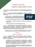 Dec Lei 667  (Organização das PMs)