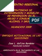 3. Enfoque Motivacional de Las Adicciones - Ps. Gal'Lino