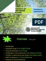 Advanced pharmacognosy