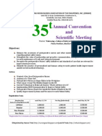 ORNAP 35th Annual Convention and Scientific Meeting