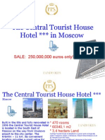 The Central Tourist House Hotel in Moscow