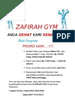 Zafirah Gym