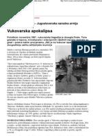 Vreme - Kratka istorija sloma - Jugoslavenska narodna armija 1989–1992 (3) _ Vukovarska apokalipsa