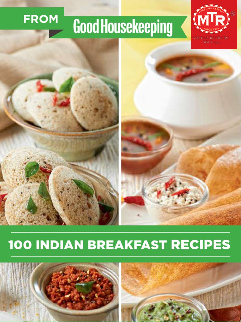 Mtr 100 indian breakfast recipes curry coriander fandeluxe Gallery
