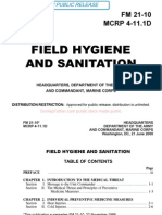 FM 21-10 Field Hygiene and Sanitation