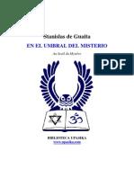 Stanislas de Guaita en El Umbral Del Misterio