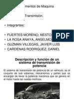 Sistema transmisión