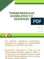 Trauma Muscular Silencioso
