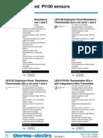 Termômetros Resistivos (Ex) - Thermo-Electra - getpdf