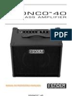 Bronco 40 Advanced Rev-A Portuguese