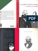 MARX, Karl; EnGELS, Friedrich. Manifesto Comunista