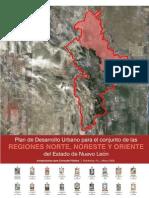 Plan de Desarrollo Urbano para el conjunto de las regiones norte, noreste y oriente del Estado de Nuevo León
