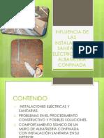 INSTALACIONES SANITARIAS EN LA ALBAÑILERÍA CONFINADA-2003