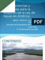 Ley de Aguas Peru