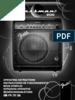 Bassman 200 Manual
