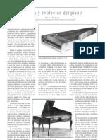 Origen y evolución del piano, por Ana Benavides