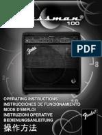 Bassman 100 Manual
