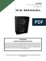 215PRO Service Manual