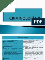 CRIMINOLOGÍA II