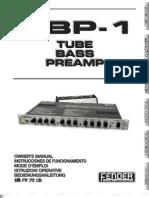 TBP-1 PreAmp Manual