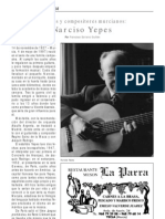Narciso Yepes, Por Francisco Soriano