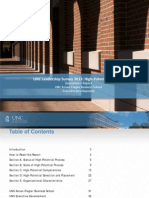 UNC Leadership Survey 2013
