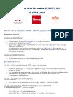 Programme de La Formation Lodz