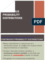 continuous distributions thomsonlearning