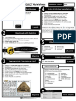 50 - PORRAS HARDING - Newspaper Guidelines With Example - General and Spanish
