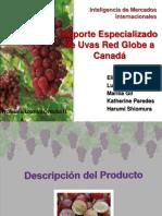 Uvas Red Globe a Canadá- Inteligencia 1