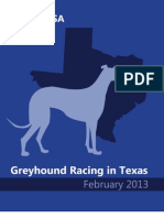 Greyhound Racing in Texas