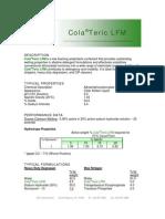 ColaTeric LFM