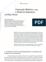 A Teoria da Imputação Objetiva e sua Influência na Moderna Dogmática Jurídico-Penal