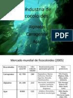 Carragenina, Agar, Alginatos