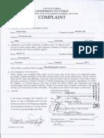 Ethics Complaint filed against Jeremy Lau