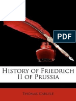 Friedrich II of Prussia, Frederick the Great VOL 2 Thomas Carlyle 1884