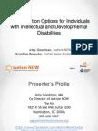 Autism NOW Webinar April 30, 2013