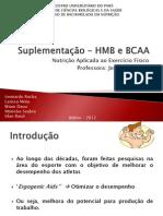 Suplementação – HMB e BCAA