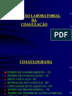 Aula 08 e 09_Avaliacao Laboratorial Da Coagulacao